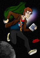 Ford Prefect in Space by AbruptlyNatural