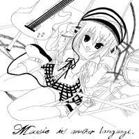 Music is Another Language by xbluephantomx
