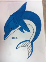 Fishy Dolphin - Tattoo by modestmonster