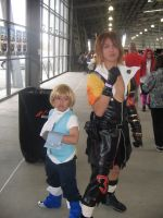 Zindane and Tidus cosplay by ray-dnt