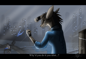Why'd you help me you idiot... by NuclearLoop