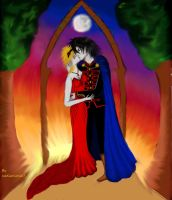 Their Eternal Love  AxS contest 6 by icediamond7