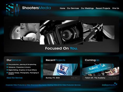 Shooters Media by indiqo