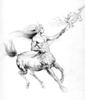 Centaur by Cyle