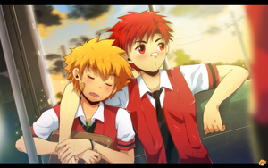 Going home by MikkouKun