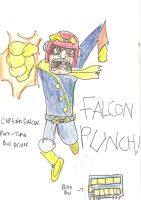 Captain Falcon the Bus Driver by Luke-the-F0x