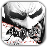 Batman Arkham City Game Icon by Wolfangraul