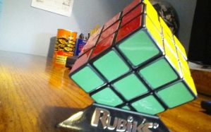 Rasta Cube by AnotherDarkNerd