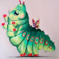 Heimlich from Bug's Life by Kaitlin73