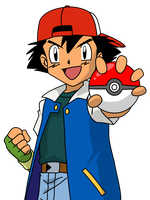 Ash Ketchum by Mighty355