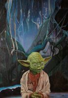 Master Yoda by EclepticGears
