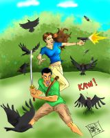 Murat and Blitz by Sniper-Cheez