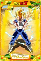 Dragon Ball Z - SSJ2 Majin Vegeta by DBCProject