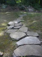 Rock Path by eyewish-stock