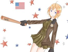 Nyo-America by TheUsualSadist