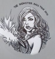 Lady Gaga - Monster Ball 2011 by Terra7