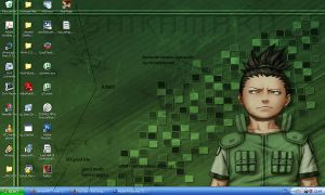 desktop screenshot-shikamaru by 9threaver