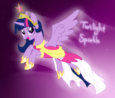 Princess Twilight Sparkle by IcelectricSpyro