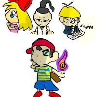 Mother 2 by ClexYoshi