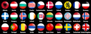 Alternate European Flags by Magnificate