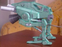 Gunwalker Papercrafts by savaskul
