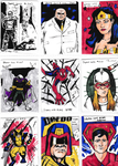 Sketch Cards 1-9 by YourHumbleDM