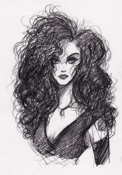 Bellatrix Lestrange by KennedyxxJames