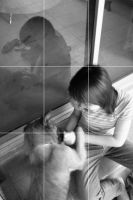 Rule of 3rds: Girl and Dog 5 by myintermail