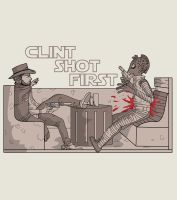 Clint Shot First by Kaineiribas