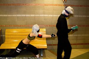 Watch out Kakashi by Suki-Cosplay