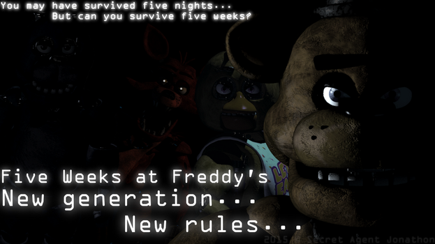 Five Weeks at Freddy's - Teaser by SecretAgentJonathon