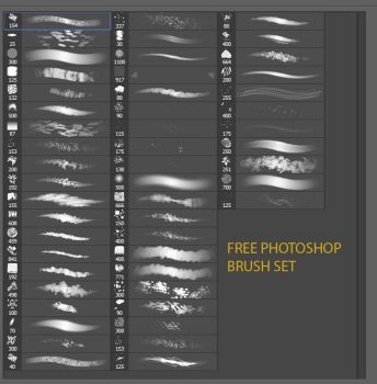 Free Photoshop enviro brush set by sangvine