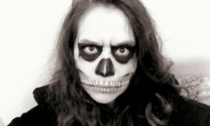 skull makeup by Daystar14