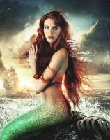 Ariel in once upon a time by countrygirl16mj