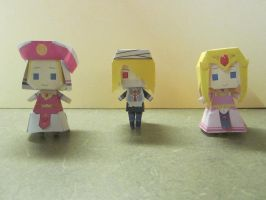 Ocarina of Time paper friends by zenturtle651692