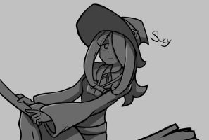 Sucy Manbavaran - Little Witch Academia by Saber-Cow