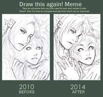 . 2010 vs 2014 . by Amelion