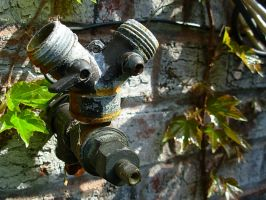 hose nozzle. by LateRainyNights