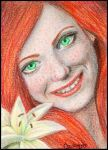 Lily Potter ACEO by acjub