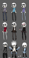 Outfit Hell Part 3 by TheseWeirdFishes