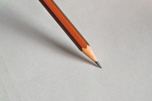 Wood pencil on white paper I. by GranthWeb