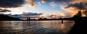 Panoramic Evening by TheUniphotoghrpher