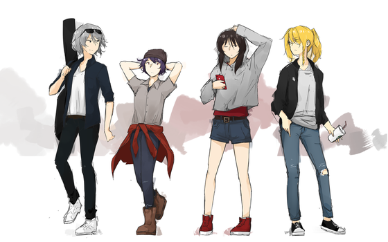 Touhou In Casual by DivYes