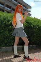 Bleach - Orihime School by xxLaylaxx