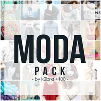 Moda Pack    By Kubra by HappyAngelPS