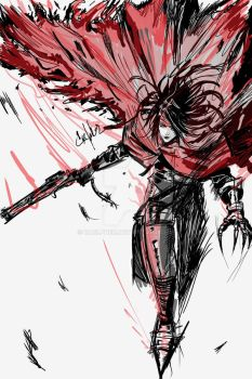 VINCENT VALENTINE BY CAELPHER by CaelpHer