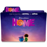Home movie folder icon by praveengs11