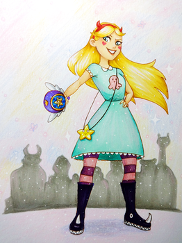 Star Butterfly by Nat-Evans