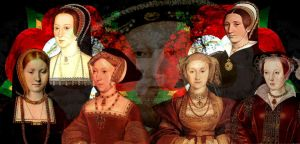 The six wives of Henry VIII by LadyBolena