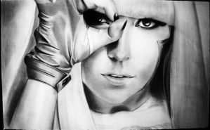 Lady Gaga by luisito22
